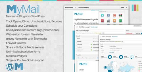 دانلود افرونه خبرنامه mymail برای وردپرس